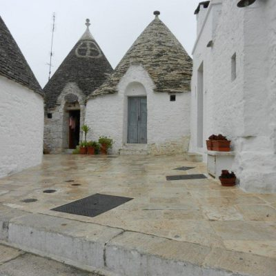 Typical Trullis in Alberobello